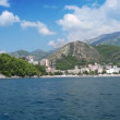 View of Budva Riviera — Stock Video