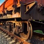 Rail freight car — Stock Photo #33463063