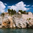 Island of Sveti Stefan, Montenegro — Stock Photo