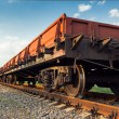 Rail freight — Stock Photo