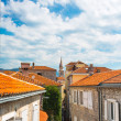 Street of Budva, Montenegro — Stock Photo