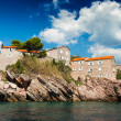 Island of Sveti Stefan, Montenegro, Adriatic sea — Stock Photo