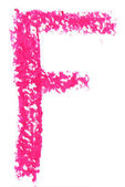 Alfabe pastel — Stok fotoğraf
