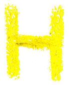 Pastel de alfabeto — Foto Stock