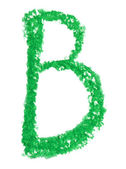 Alphabet pastel — Foto Stock