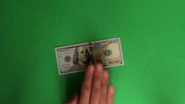 お金を数える — ストックビデオ