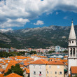 Stock Photo: View on old town of Budva. Montenegro, Balkans