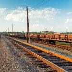 Rail freight car — Stock Photo #39260897