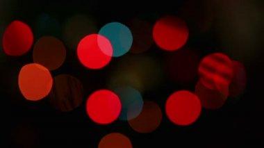 Flashing lights background — Stock Video