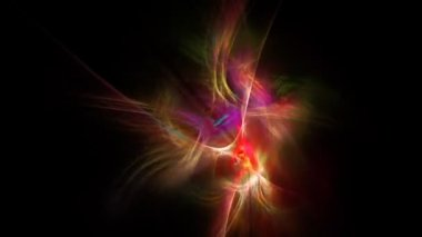 Abstract digital fractal background 