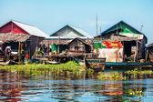 El pueblo en el agua — Foto de Stock