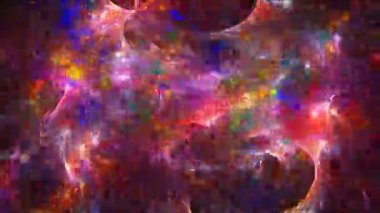 Abstract fractal background — Stock Video