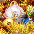Christmas decoration-balls — Stock Photo