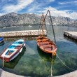 A small bay with boats — Stock Photo