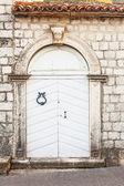 Close-up image of ancient door — Stock Photo