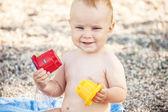 Portrait of a happy boy — Stock Photo
