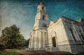 старая русская церковь — Стоковое фото