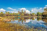 Angkor Wat Temple — Stock Photo