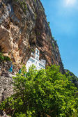 View on Ostrog ortodox monastery. — Stock Photo