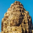 Faces of ancient Bayon Temple At Angkor Wat — Stock Photo #30001595