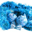 Christmas decorations - balls — Stock Photo