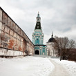 Stock Photo: Old russichurch in gloomy weather