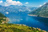 Nice mountain and sea view — Stock Photo