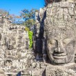 Faces of ancient Bayon Temple At Angkor Wat — Stock Photo #37985455