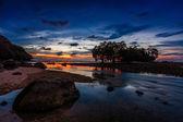 Gün batımı ebb — Stok fotoğraf