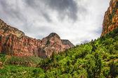Slopes of Zion canyon — Stock Photo