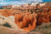 View from viewpoint of Bryce Canyon. — Stock Photo