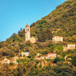 Stock Photo: View on old ortodox church at moutains