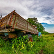 Stock Photo: Old lorry