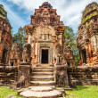 Ancient buddhist khmer temple in Angkor Wat complex — Stock Photo #41664325