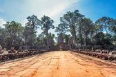 Templo khmer antigo do budista no complexo de angkor wat — Foto Stock