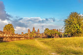 Angkor wat temple in sunset light  — Stock Photo