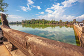 Lake near Angkor Wat — Stock Photo