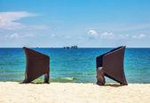 太陽の椅子 — ストック写真