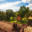 Ancient buddhist khmer temple in Angkor Wat complex — Stock Photo #50227077