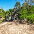 Ancient buddhist khmer temple in Angkor Wat complex — Stock Photo #50227153