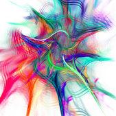 абстрактный фрактальной фона — Стоковое фото