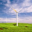 Windmills with Blue Sky — Stock Photo #8304100