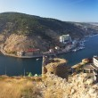 Beautiful Balaklava bay, Crimea - Stock Photo