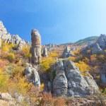 Autumn mountain. Ghost Valley, Demerdji, Crimea, Ukraine — Stock Photo #24810949