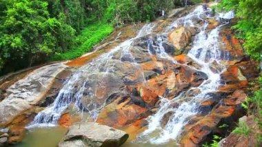 Nyastolsfossen Waterfall — Stock Video