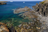 Syn på havsstranden — Stockfoto
