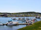 View of harbor — Stock Photo