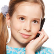 Girl, talking on the phone — Stock Photo #10151266