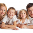 Family with two children — Stock Photo #12359729
