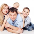 Happy family — Stock Photo #13727576